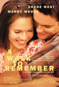 'A Walk to Remember' movie poster