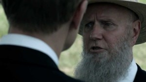 Alpha Trivette is Israel Proctor on 'Banshee'.