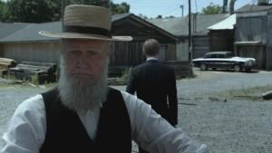 Alpha Trivette plays Israel Proctor on Cinemax's 'Banshee', filmed in Charlotte, North Carolina.
