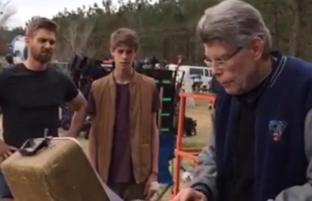 Stephen King On The Wilmington North Carolina Set Of