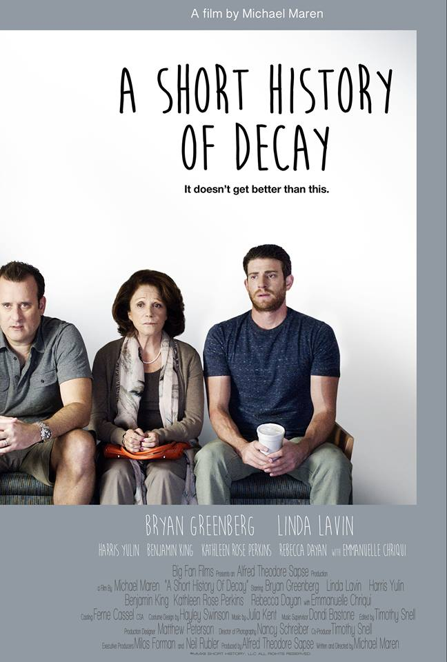 'A Short History of Decay' Official Poster