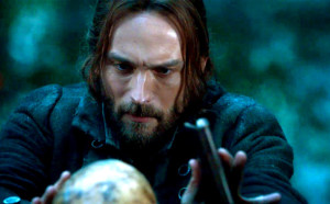Tom Mison is Ichabod Crane on 'Sleepy Hollow', filmed in Wilmington, North Carolina.