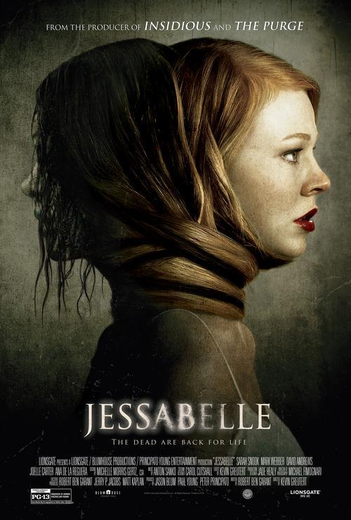 Jessabelle (2014), filmed in Wilmington, North Carolina - official poster