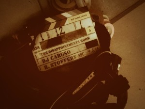 'The Disappointments Room', filmed in Greensboro, North Carolina (photo: director DJ Caruso/Twitter)