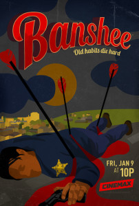 'Banshee' Season 3 premieres on Jan. 9, 2015, filmed in Charlotte, North Carolina.