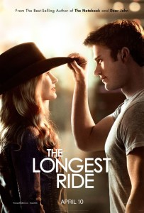 'The Longest Ride', filmed in Wilmington, Winston-Salem, and Jacksonville, North Carolina