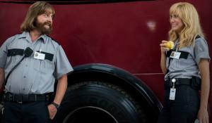Zach Galifianakis and Kristen Wiig star in 'Masterminds', filmed in western North Carolina.