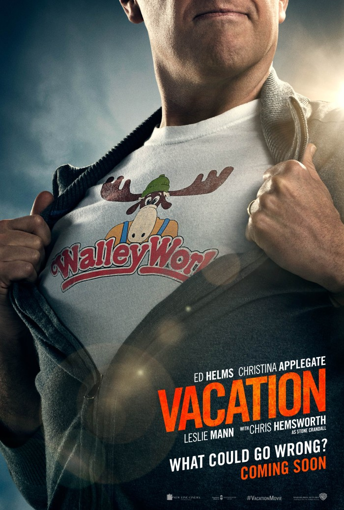 'Vacation' was filmed partially in Charlotte, North Carolina.