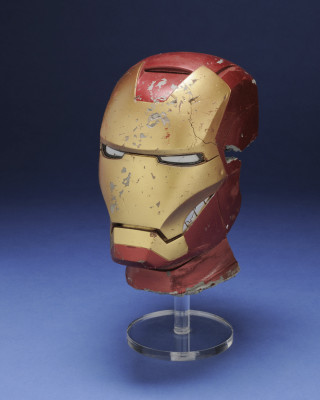 A prop from 'Iron Man 3', filmed in Wilmington, North Carolina in 2012.