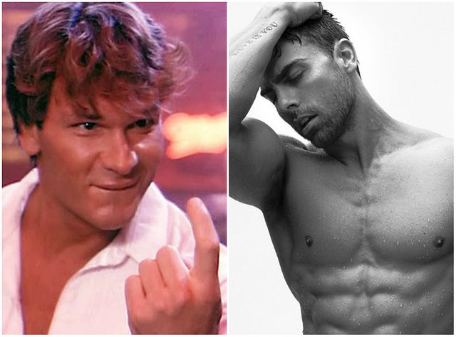Johnny - Patrick Swayze (1987) and Colt Prattes (2016)