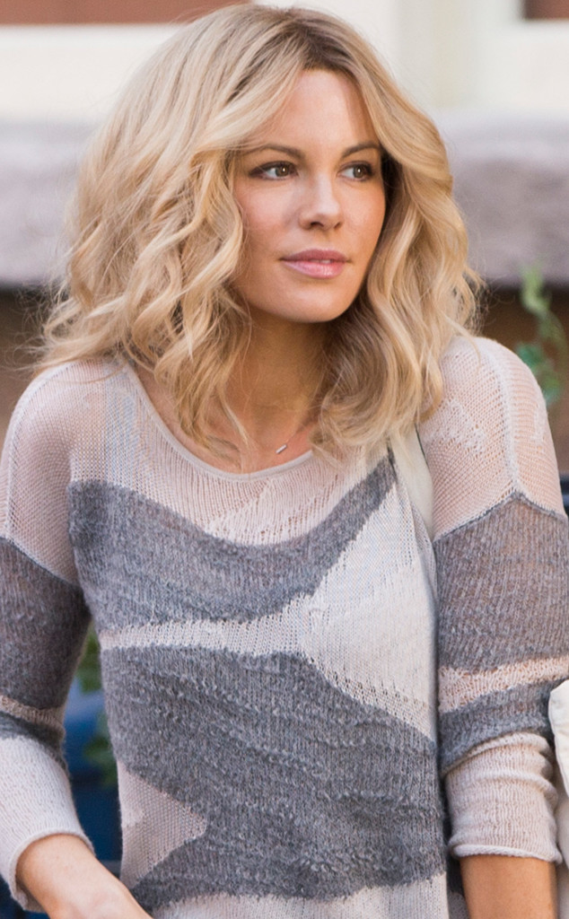 Kate Beckinsale on the set of 'The Disappointments Room', filmed in Greensboro, North Carolina.