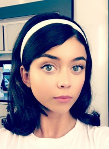 Sarah Hyland as Lisa Houseman in Dirty Dancing, filmed in North Carolina. photo: Twitter