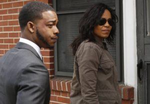Stephen James and Sanaa Lathan star in 'Shots Fired', filmed in North Carolina.