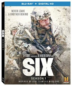 Six - Blu-ray + Digital HD; filmed in Wilmington, North Carolina