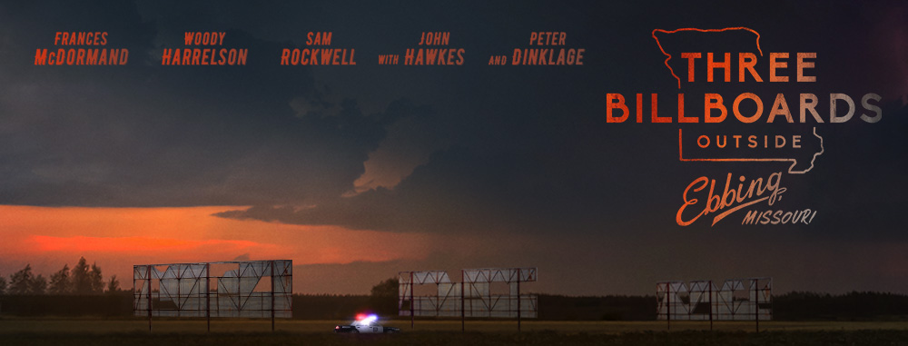 Three Billboards Outside Ebbing, Missouri - banner